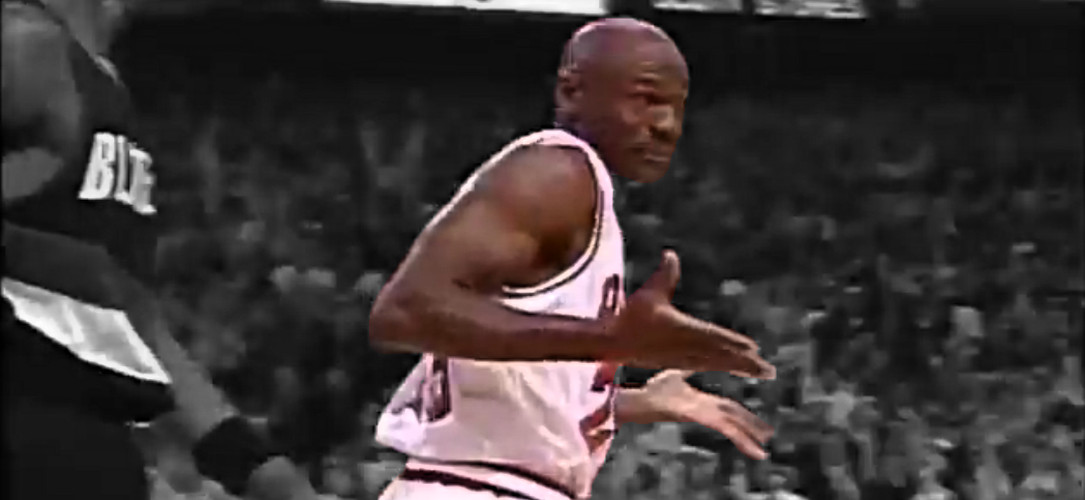 playoffs revival Michael Jordan Shrug Game