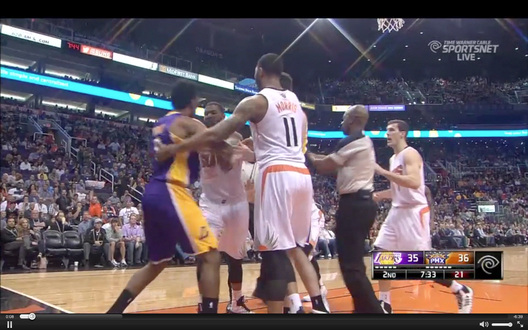 Nick Young fight