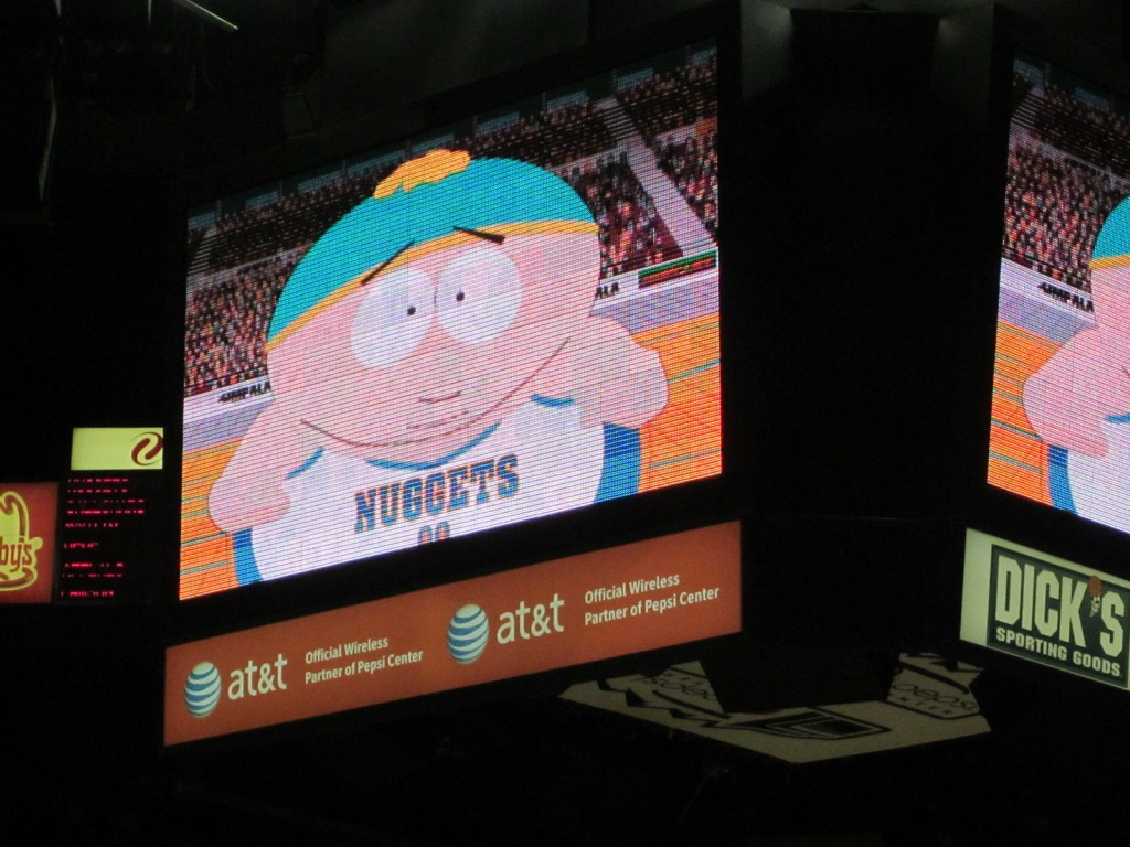 Eric Cartman, Denver Nuggets