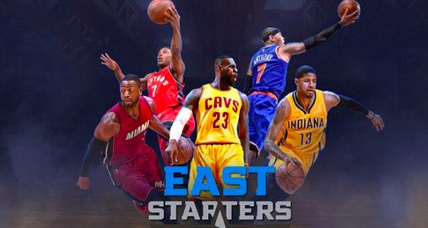 All Star Game starters Est