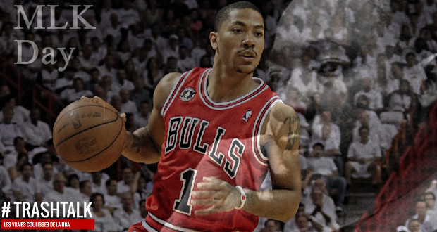 Derrick Rose triple double martin luther king day