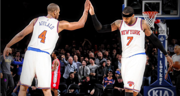 Carmelo Anthony Knicks Sixers