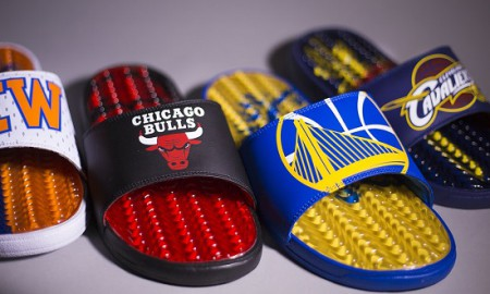 ISlide NBA Waves Gel Sandal