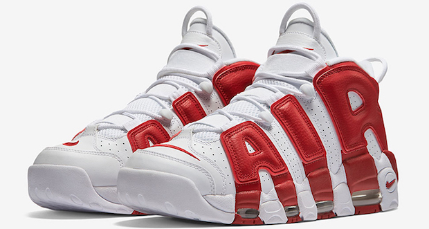 air max uptempo rouge