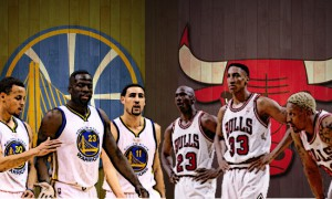 Chicago Bulls vs Golden State Warriors comparaison
