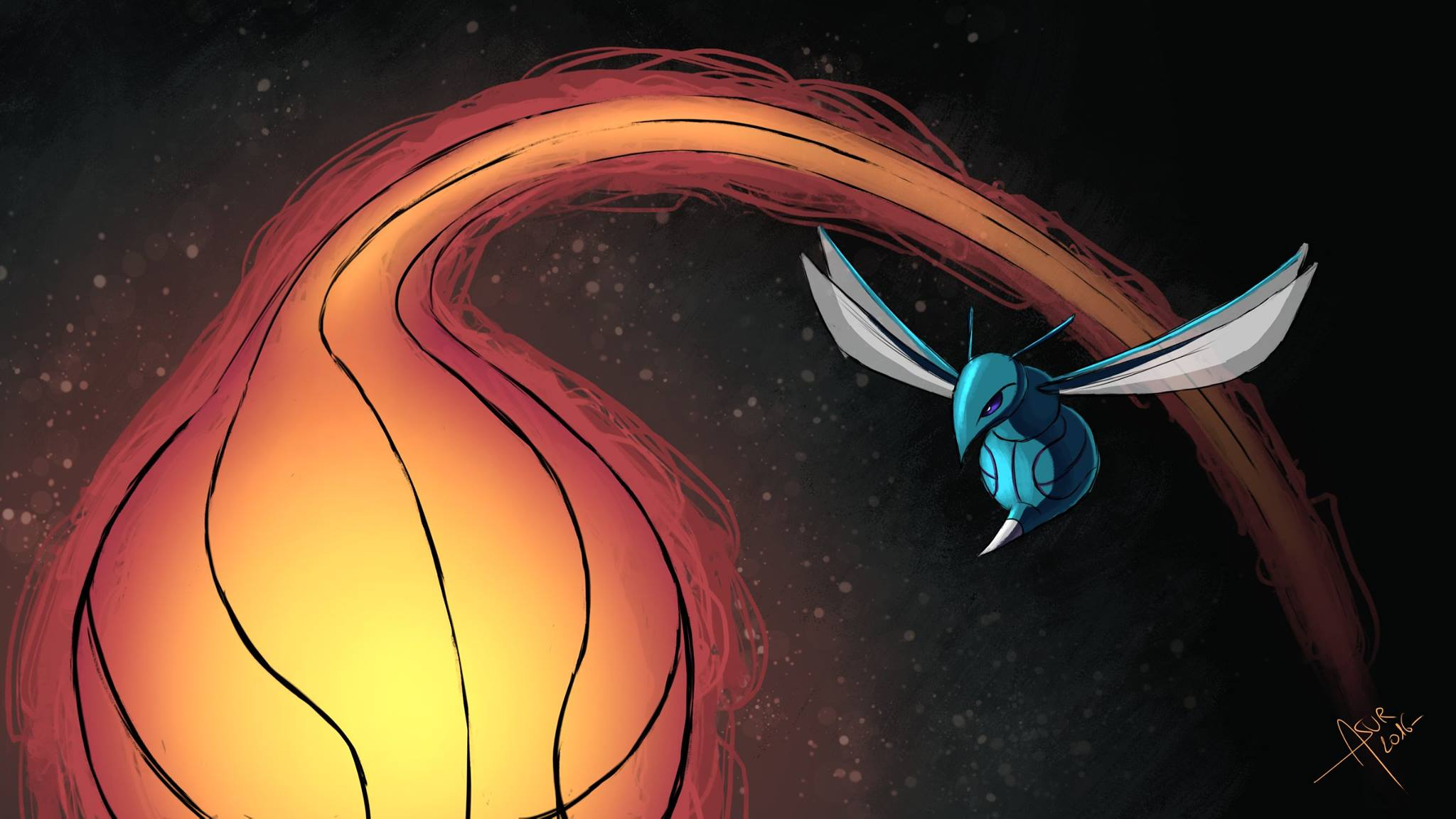 Heat - Hornets (Source : Asur Illustrations)