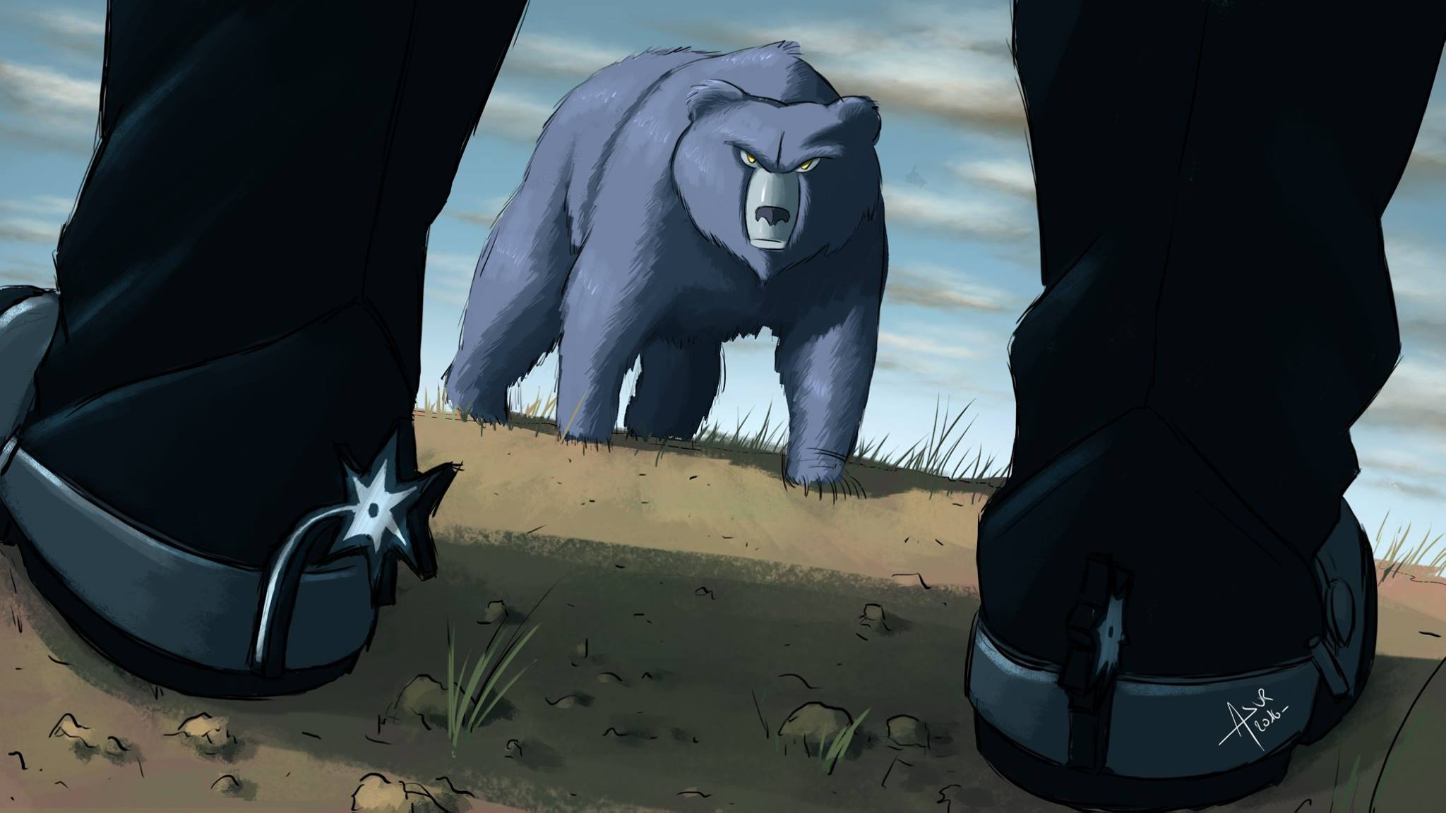 Spurs - Grizzlies (Source : Asur Illustrations)