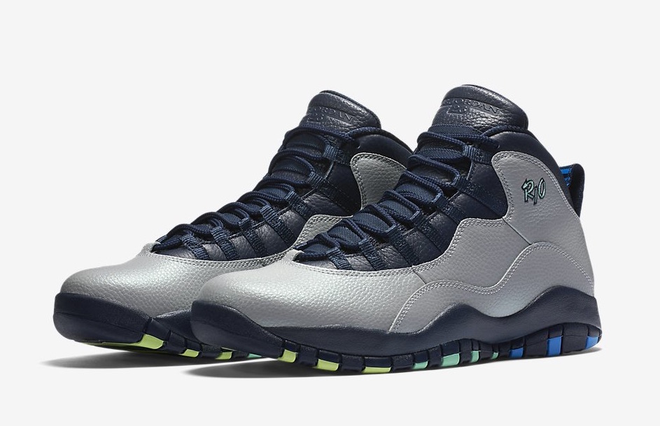 ... Nike Air Jordan 10 Rio City Pack
