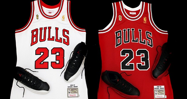Jersey Michael Jordan Flu Game