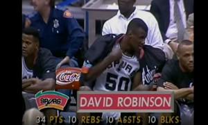 David Robinson Quadruple-double