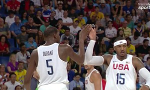 Kevin Durant - Carmelo Anthony - Team USA jeux olympiques