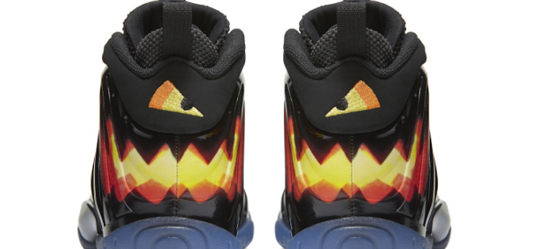 Foamposite One Nike Gamins Mettront HalloweenLes Air Des trhQds