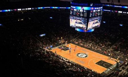 Knicks, Nets Barclays Center