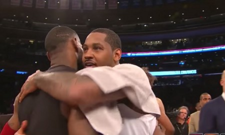 Knicks - Carmelo Anhony - LeBron James