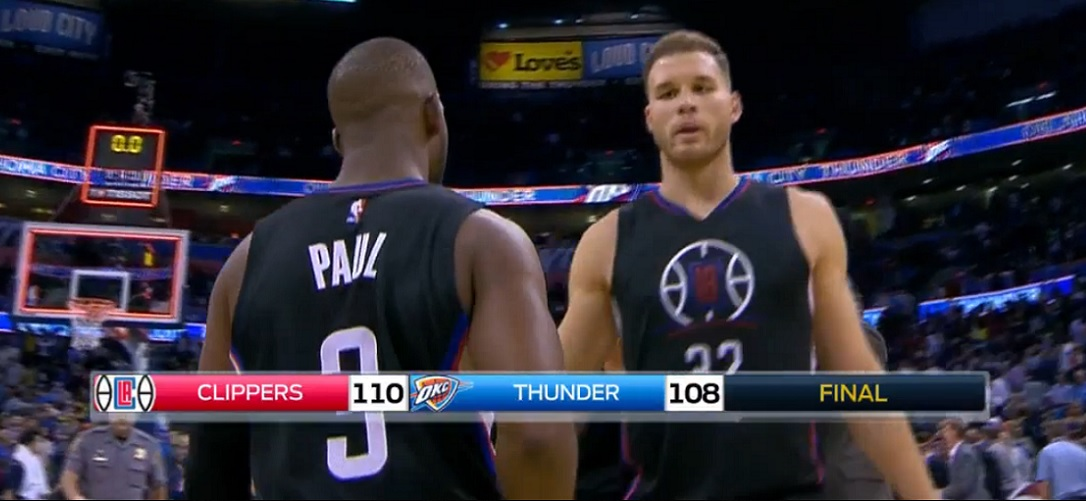 Clippers - Chris Paul - Blake Griffin