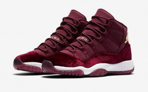 Air Jordan 11 GS Red Velvet