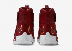 Nike LeBron Zoom Soldier 10 team red