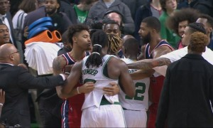 Celtics Wizards fight
