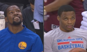 Warriors - Kevin Durant Russell Westbrook