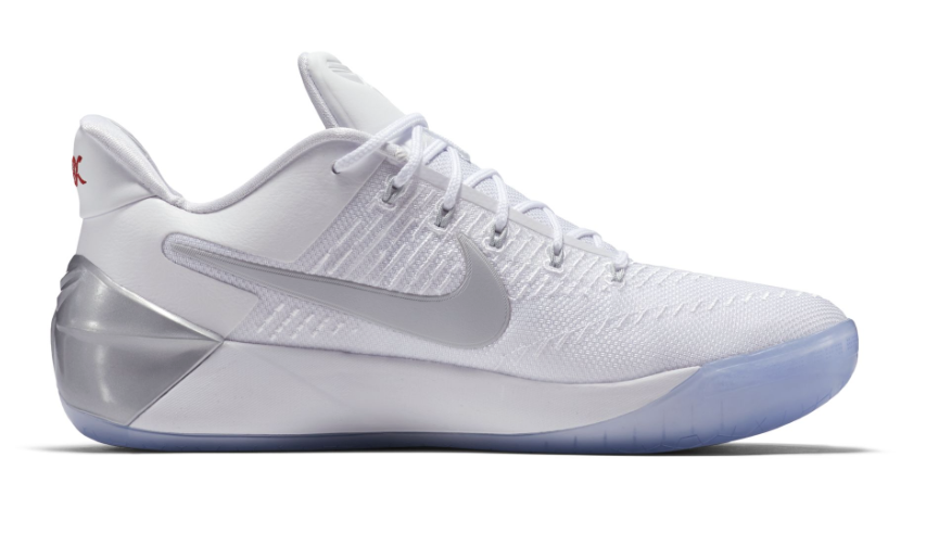 Nike Kobe A.D. Pristine : chaussures blanches pour Black Mamba