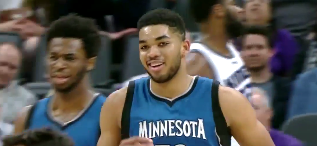Karl-Anthony Towns Sophomore