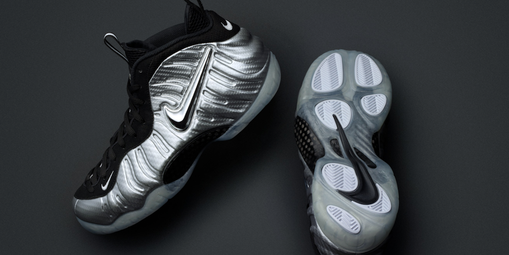 Nike Air Foamposite Pro Silver Surfer
