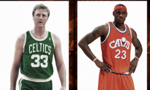 LeBron James Larry Bird