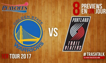 Playoffs Warriors Blazers Preview
