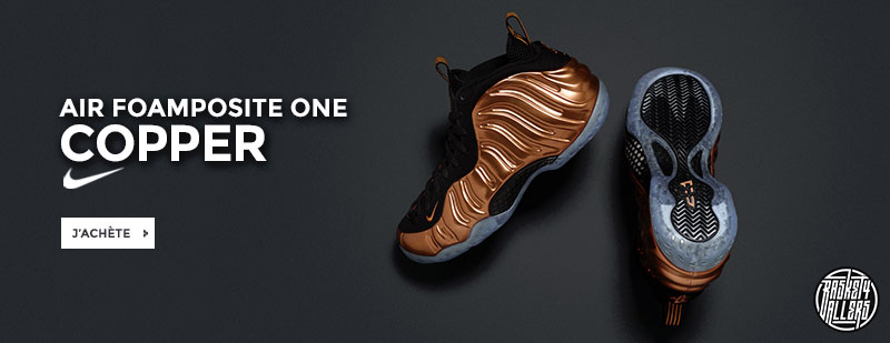 Nike Air Foamposite Copper