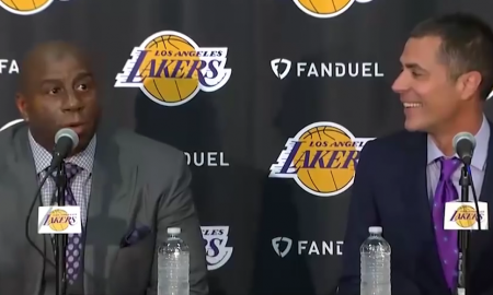 Rob pelinka et Magic Johnson, Los Angeles Lakers