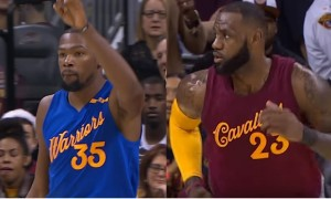 Warriors - Cavs - Kevin Durant - LeBron James