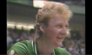 Larry Bird 1986 MVP