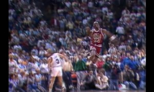 Michael Jordan - The Shot