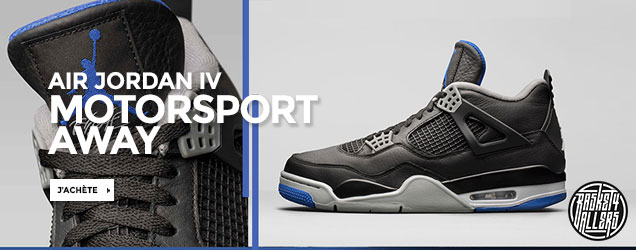 Air Jordan 4 Motorsport Alternate
