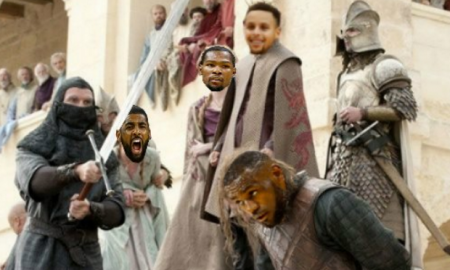 Warriors Cavs