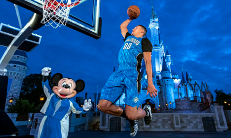 Orlando Magic Aaron Gordon Disney Mickey
