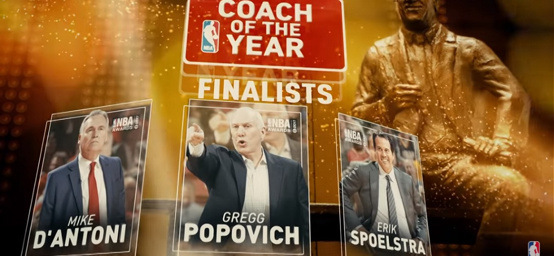 NBA Awards - coach