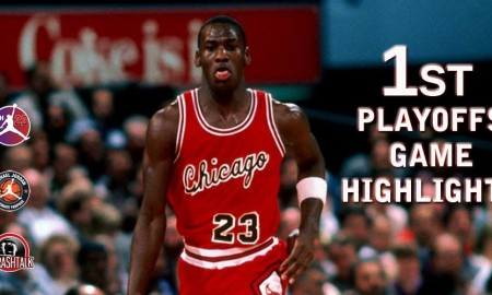 Michael Jordan - Playoffs premier match