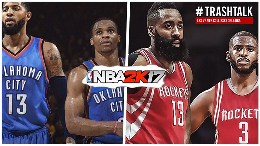 NBA 2K17 - Thunder - Rockets