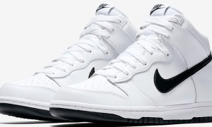 Nike Dunk High White and Black