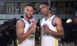 Patrick McCaw Stephen Curry