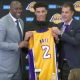 Lonzo Ball Magic Johnson