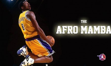 Kobe Bryant The Afro Mamba