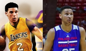 Ben Simmons Lonzo Ball