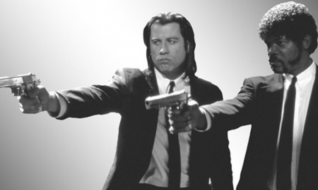 Guns Pulp Fiction
