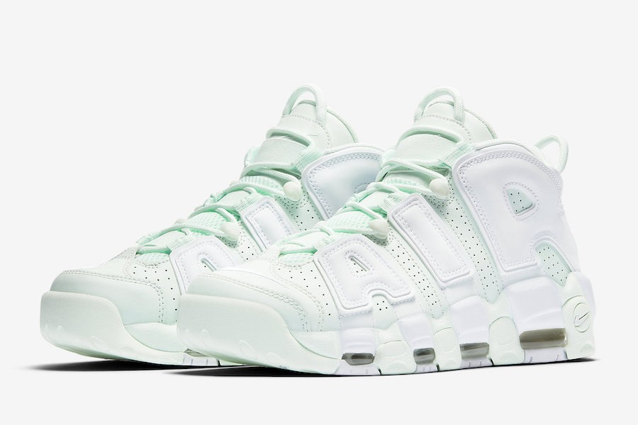 Nike Air More Uptempo Barely Green