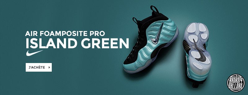 Nike Air Foamposite Pro Island Green