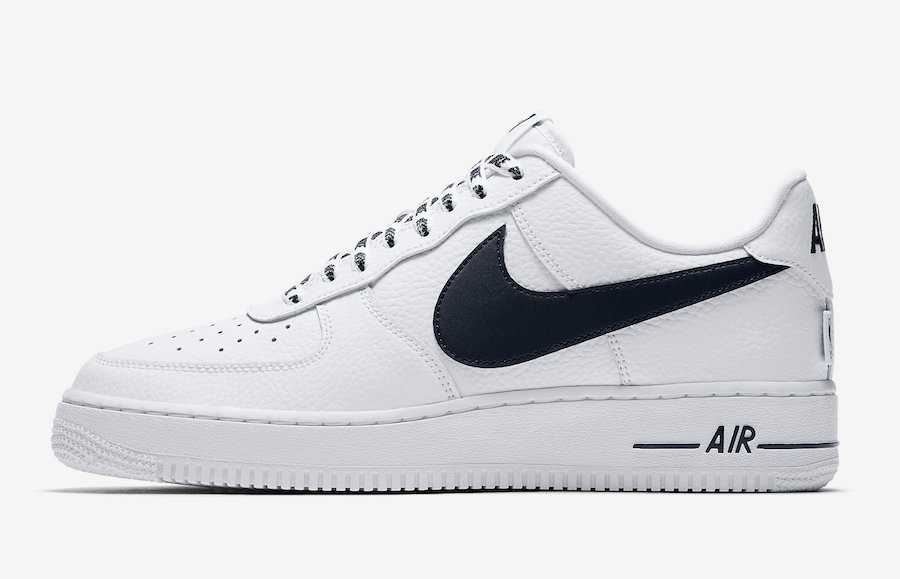 nike air force one blanches avec traits noires