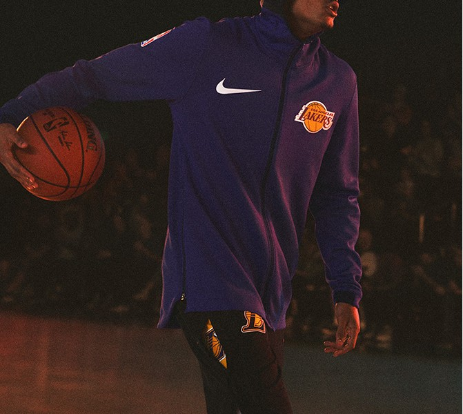 Veste d'échauffement Nike NBA Therma Flex Showtime : le