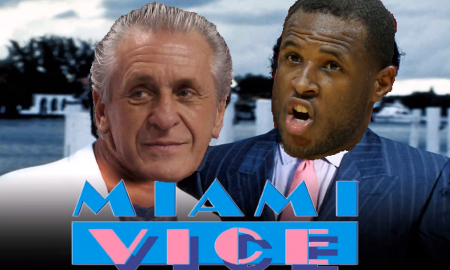Miami Heat Pat Riley Dion Waiters